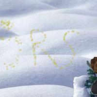 Írd sárgával a neved – népszokások hóval