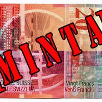 Átáll a svájci frankra a Pénzjegynyomda Zrt.