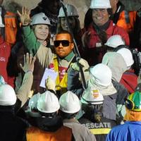 Kanye West is kijutott a chilei bányából