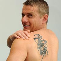 Exkluzív! Csak nálunk Rékasi eredeti tetoválása!