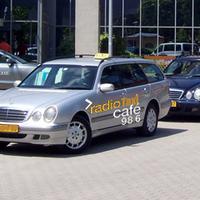 A radiocafén ezentúl taxit is lehet kérni