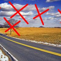 A plakátok után a fákat és a felhőket is el kell tüntetni az autópályákról!