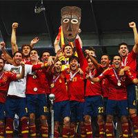 Az Afrika Kupát is megnyerte Spanyolország