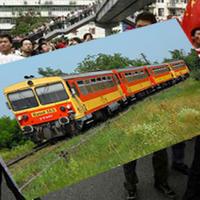 Buszsofőrök miatt késhetik le a tüntetést a mozdonyvezetők