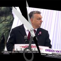A köztévé megpuklizta Orbán ünnepi beszédét