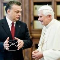 Orbán mindent bevallott a Pápának