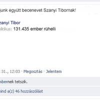 Gúnynevet keres a Fidesz Szanyi Tiborra