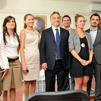 A nap képe: A LUXx Video rendezvényén járt a miniszterelnök