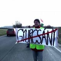 Gyurcsányellenes tüntetőt találtak a Kossuth-téren