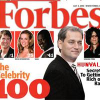 Hunvald György a Forbes-listán