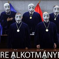 Alkotmánybírák törték fel az Anonymous honlapját