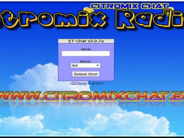 CitroMix Rádió Chat Szoba