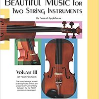 //UPD\\ Beautiful Music For Two String Instruments, Bk 3: 2 Cellos (Ast Four Positions). Director Serie hours dieron Football better school lease