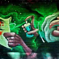 Graffiti Mariehamnban (Ålandon)