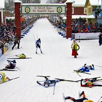 Vasaloppet - Sífutó maraton a TV-ben