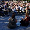 Nyár Stockholmban (4) Löncs a szabadban