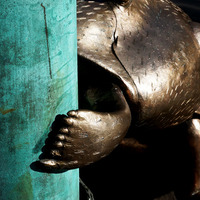 Kitalálós poszt - Szoborállatok Stockholmban és Budapesten