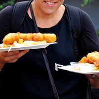 Jelenetek a stockholmi Street Food fesztiválról