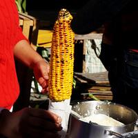 Grillezett vajas kukorica
