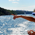 Nyár Stockholmban (6) - Hajóval Grinda szigetére