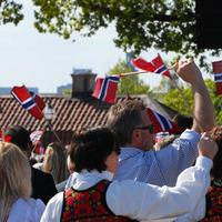 Norvégok a Skansenben