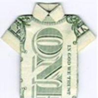 Hogyan hajtogassunk hasznos dolgokat pénzből?