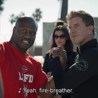 SWAT 2x14 – Luca és a többiek a LAFD volt NFL játékosai ellen