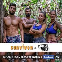 Ma este Facebook live a Survivor szereplőivel