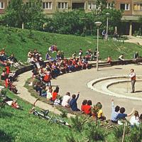 A park története