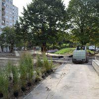 Hamarosan átadásra kerül a park egy része