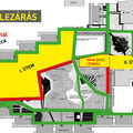 2018. július 5-én ideiglenes lezárás a Bécsi út és Vörösvári út közötti sétányon