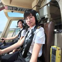 Az első női helikopter pilótanövendékek Kínában