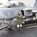 Mikor repül a magyar Gripenen pilótanő?