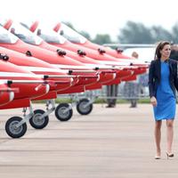 Katalin hercegnő meglátogatta a királyi repülőnapot Fairfordban