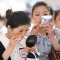 Stewardess felvételizők Kínában