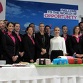 Petra, a Wizz Air debreceni bázis menedzsere