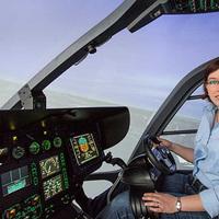 Bianca autós kormánykerekével helikoptert vezethetsz