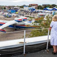 Marina képei az orosz Fekete tengeri repülőnapról