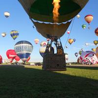 Magyar ballonosok a Hőlégballon Világtalálkozón