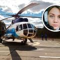 Helikopter pilótanő a tyumenyi olajmezőkön