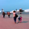 Repülőgéppel utaztam a Balatonra