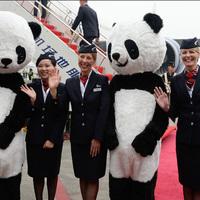 British Airways új panda gépe
