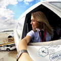 Eva a Boeing 747-es cargo pilótanő