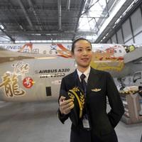 Kína legszebb stewardesséből lett pilótanő