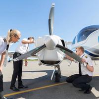 Életképek a norvég Pilot Flight Academy-ről