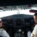 Pilótafülkében repültem a Balatonról Düsseldorfba