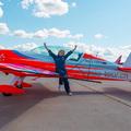 Az ég királynője a moszkvai légi szalonon