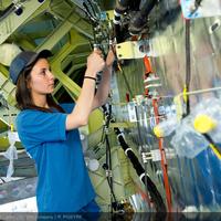 Nők az Airbus gyárban