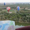 Hőlégballonnal repültem át a Tiszán
