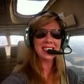 Kimberly, a biológus-pilótanő